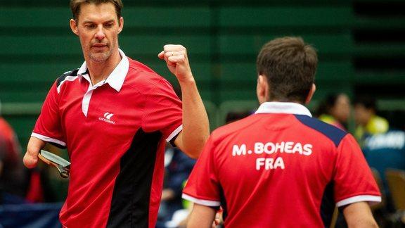 Handisport Handisport Tennis De Table Gilles De La