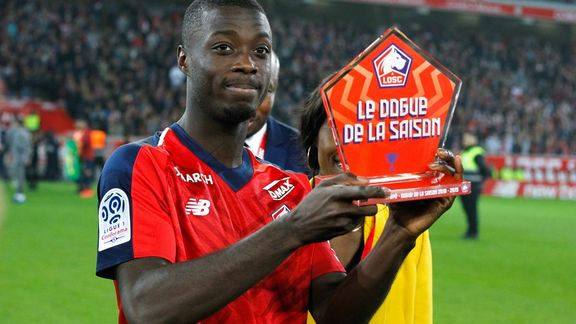 International : Arsenal : Nicolas Pépé est arrivé à Londres ! - International