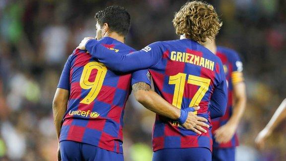 Le Barça écrase Naples, Griezmann et Dembélé marquent — Amical