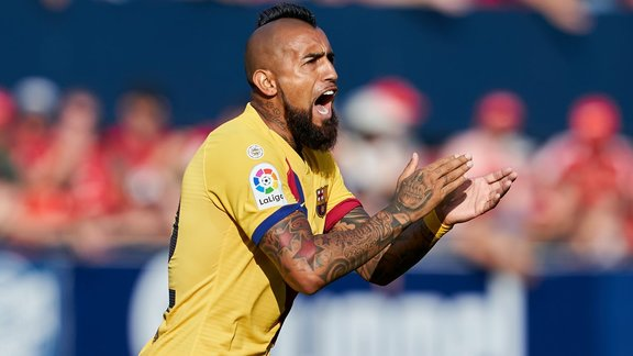 Arturo Vidal (Barça) brandit la menace d'un départ