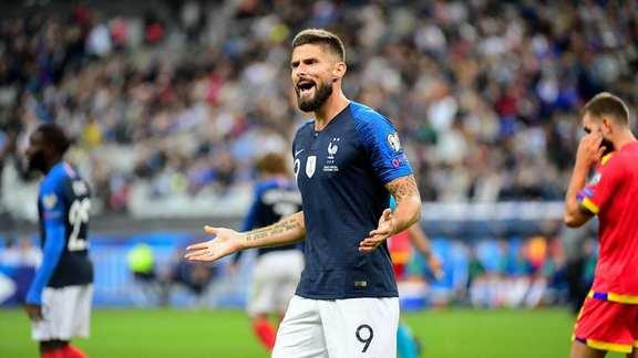 Olivier Giroud prend son mal en patience — Mercato