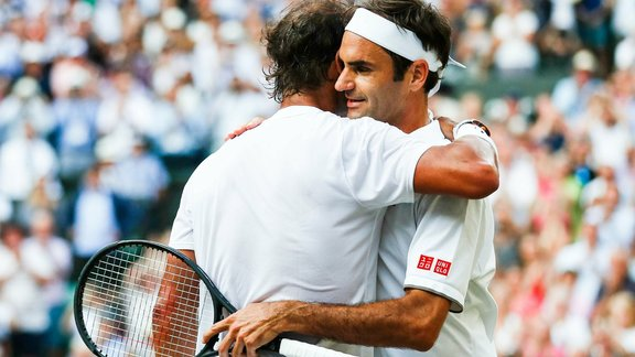 Tennis: This great outing against Federer, Nadal and Djokovic!