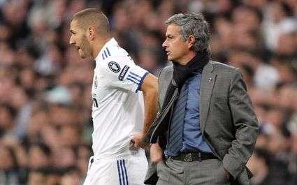 Real : Benzema et Mourinho se chauffent
