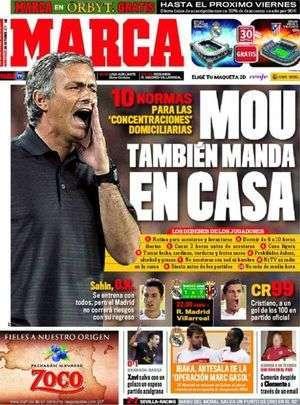 Real : les dix commandements de Mourinho