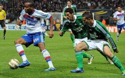 Résultats Ligue 1 : Lyon domine Saint-Etienne