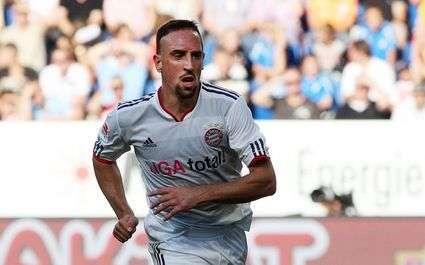 Ribéry met une claque à Malouda