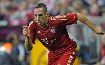 Football Bayern Ribery Habite Par Un Drole Despoir