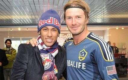 Neymar et Beckham