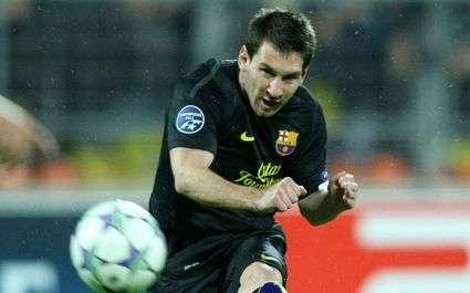 Barça : Messi et son énorme record