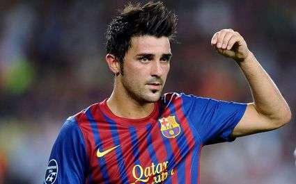 Barça : 3000 euros d'amende pour Villa ?