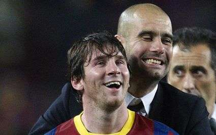 Barça : Guardiola est accroc à Messi