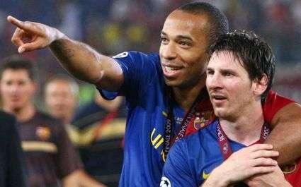 Barça : Henry menacé par Messi