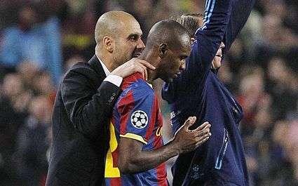 EDF : Guardiola ne veut pas lâcher Abidal !