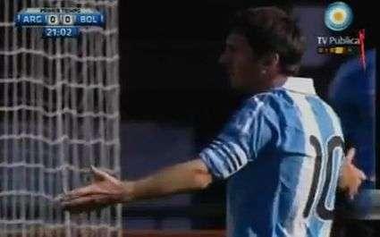Messi et l'Argentine domine l'Uruguay