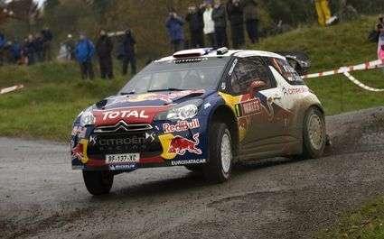 Rallye : Loeb en tête en Alsace