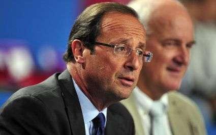 JO 2012 – Natation : Hollande félicite les médaillés
