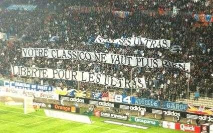 OM : Trois Marseillais interdits de stade