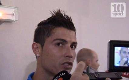Real : Ronaldo allume son gardien à l'échauffement