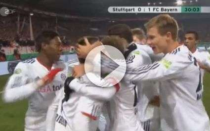 Bayern : le but décisif de Ribéry
