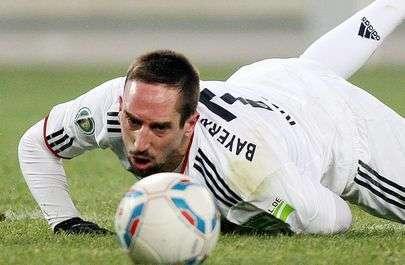 Le geste déplacé de Ribéry