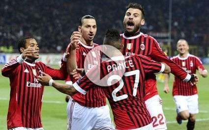Milan : le superbe but de Boateng !