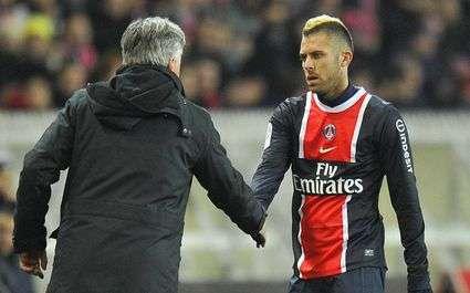 PSG : Ancelotti et Ménez copient les supporters