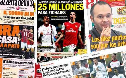 Barça : un « petit » budget pour Van Persie et Silva