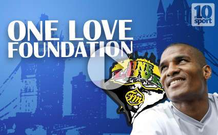 One Love Foundation par Florent Malouda