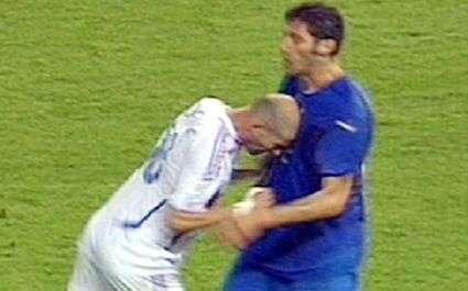 Le coup de boule de Zidane en statue