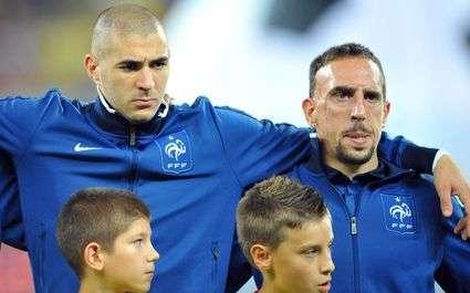 Bleus : Ribéry évoque Benzema
