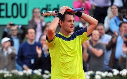 Résultat Roland-Garros, Mathieu éliminé
