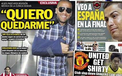 Daniel Alves : « Je veux rester »