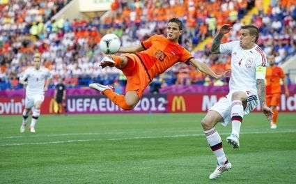 Euro 2012 : Les Pays-Bas battus par le Danemark !