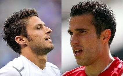 Giroud et Van Persie