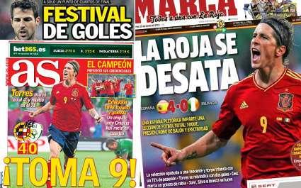 L'Espagne s'y voit déjà
