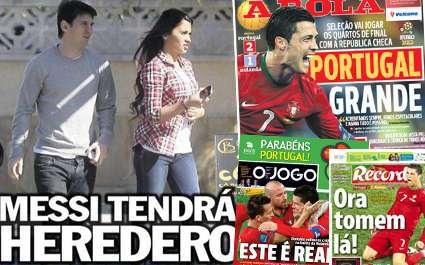 Messi : « Je vais être papa »