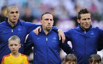 Benzema Ribery Cabaye