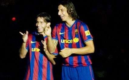 Ibrahimovic et Maxwell