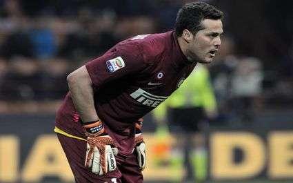 Inter Milan : Julio César parti cette semaine ?