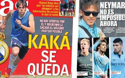 Kaka obligé de rester au Real Madrid