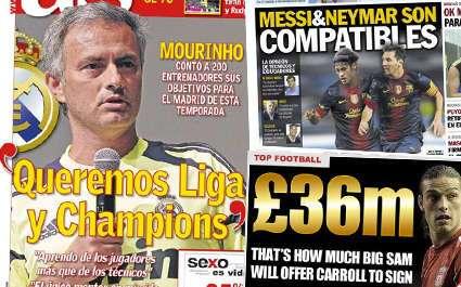 Real : les deux objectifs de Mourinho