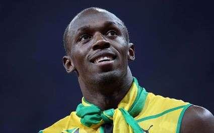Usain Bolt rêve de jouer avec Manchester United