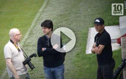 Les premières images de Thiago Silva au PSG