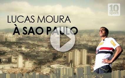 PSG : rencontre avec Lucas Moura