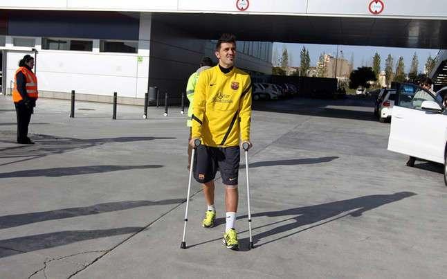 Barça : Le terrible accident qu'a évité David Villa