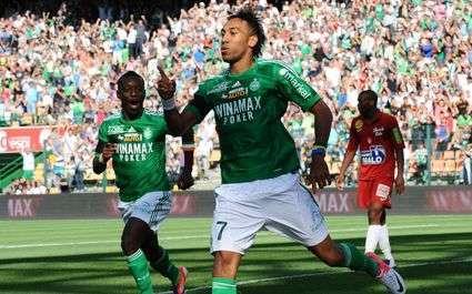 ASSE : Aubameyang, plus fort qu'Ibrahimovic