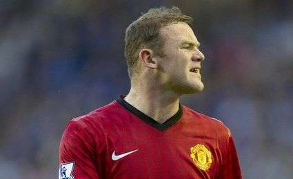 Man. United : Rooney absent jusqu'au 20 janvier