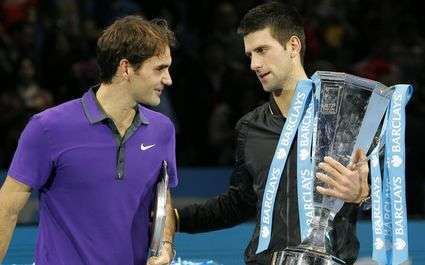 Federer et Djokovic