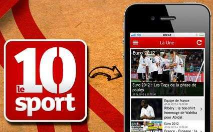 L'application iPad du 10 Sport est disponible