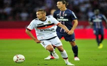 Résultat Ligue 1 : Lorient-Lille 1-0 (MT)